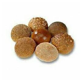 Mini pluk gesorteerd bolletjes Bruin